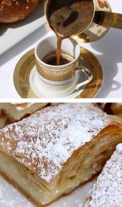 Greek coffee & sweets